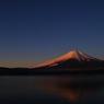 朝焼け富士