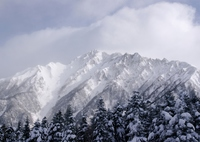 厳冬の西穂高岳