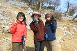 福寿草3人娘