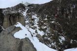 大黒岩から見る頂上