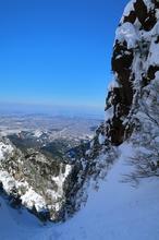 今世紀最高の積雪を登る