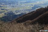 藤原岳から見たセメント工場