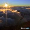 富士海岸の日の出Ⅱ