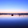 印旛沼・朝景 - 蒼静の水面 -