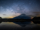 富士と天の川