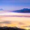 pastel night Fuji