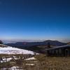 北アルプスと小さい小屋