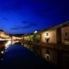 夕暮れ運河