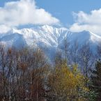 NIKON NIKON D90で撮影した風景(富良野からの十勝岳)の写真(画像)