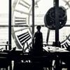 大時計のカフェ