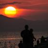 ninjinの松江百景 夕陽 宍道湖 2