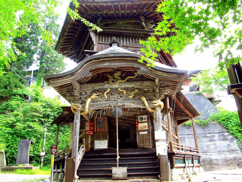 会津飯盛山 さざえ堂 by aizu (ID:1246431) - 写真共有サイト:PHOTOHITO