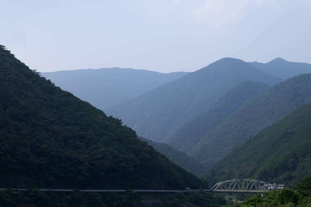 熊野の山地