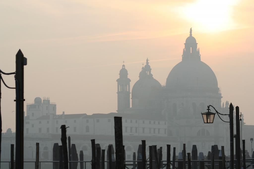 ベネチアの夕暮