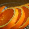 朝食のオレンジ