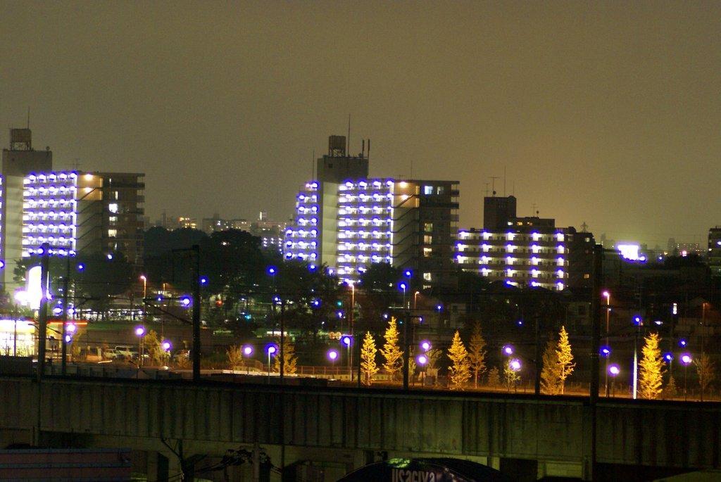 夜のMS街