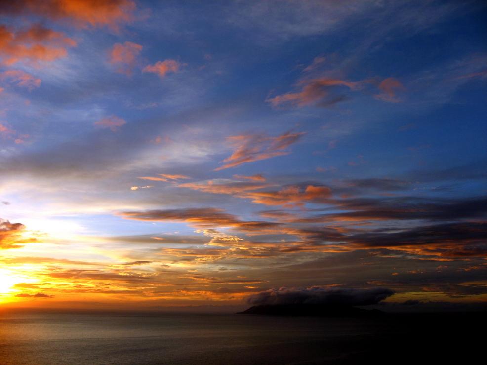 Sunset in Yakushima