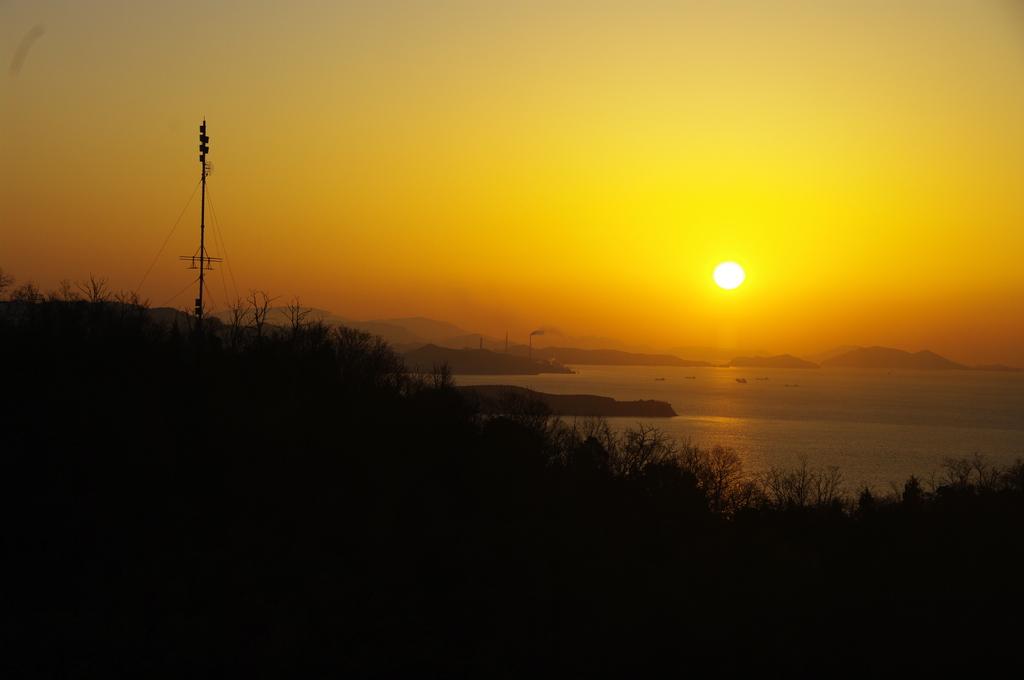 瀬戸内 児島からの朝日