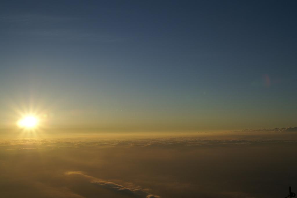 富士山の御来光