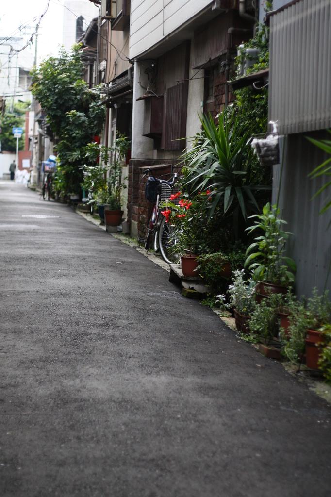 大阪の裏路地