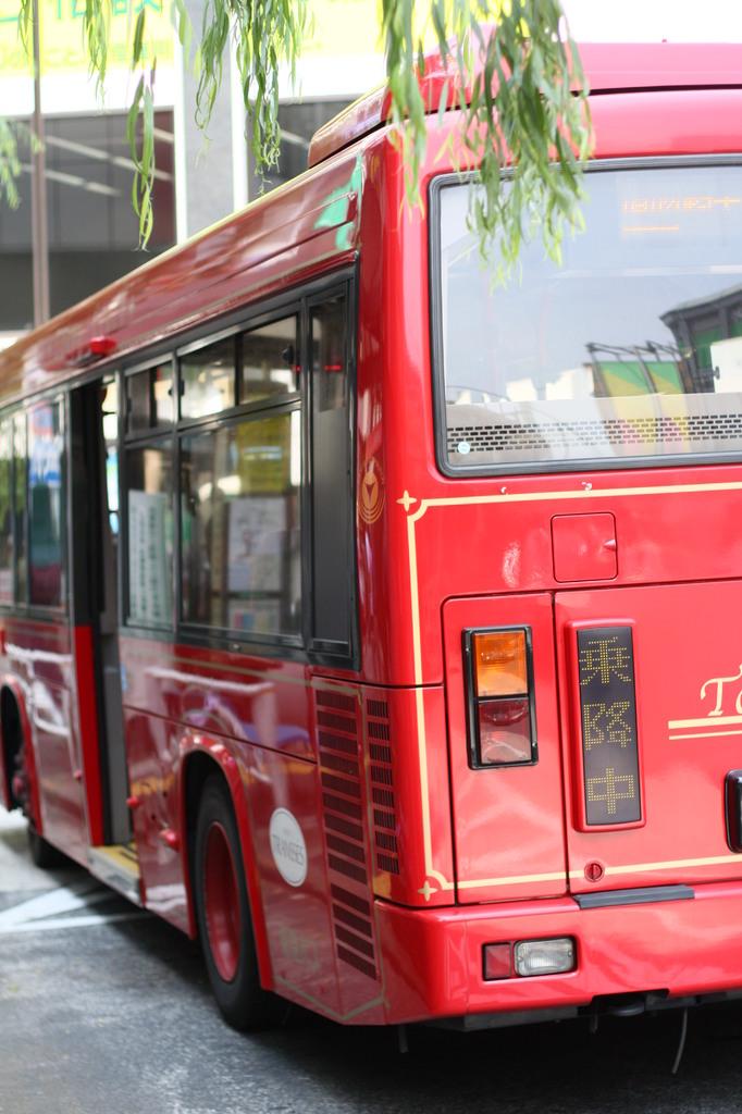 Bus乗降中