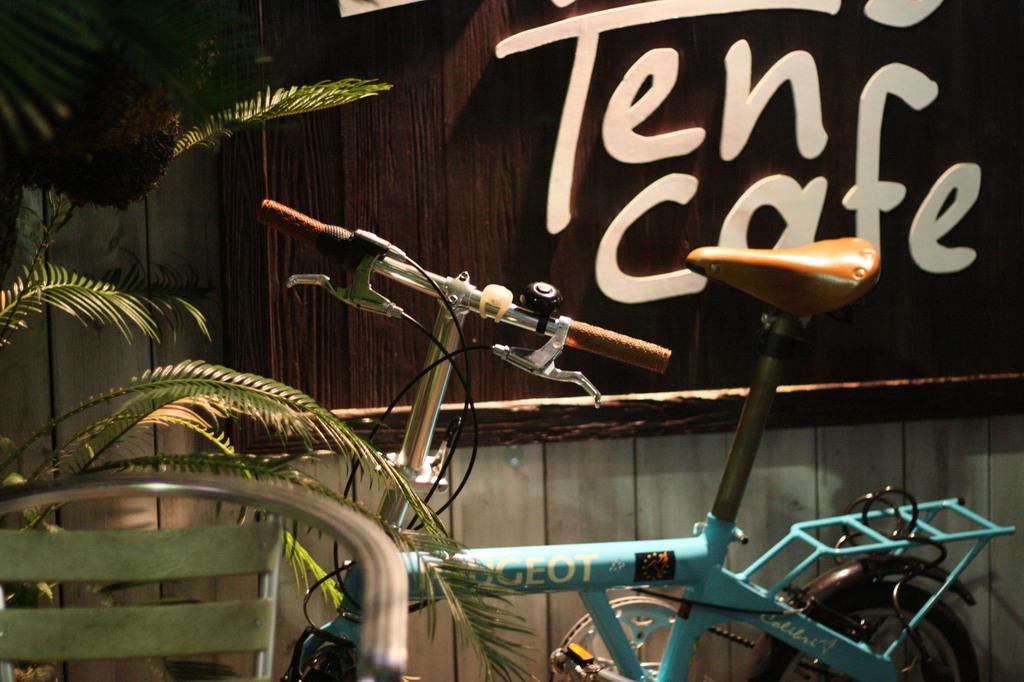 Palms Cafeと自転車