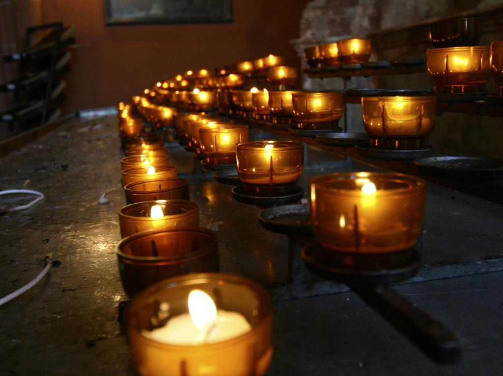 教会の灯り