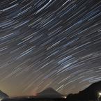精進湖の星(コンポジット)