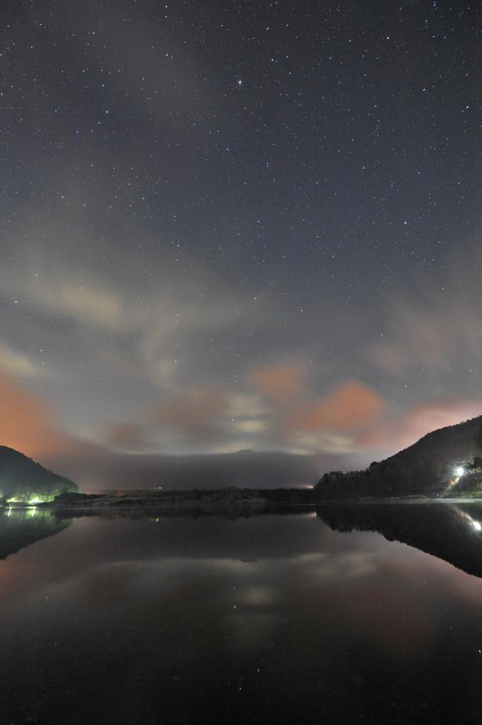 精進湖の星(幻想)
