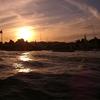 ナイルの夕日