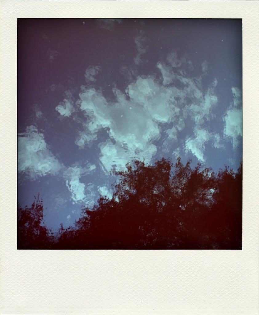 印象派の空