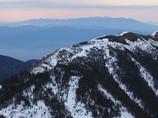 八ヶ岳と大滝山