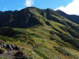 初秋の立山別山