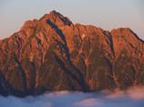 赫灼の剱岳