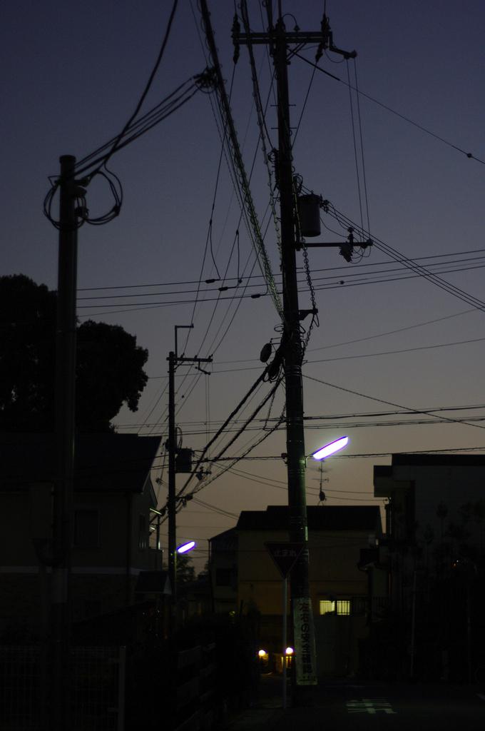 見慣れた夕景_IMG1859