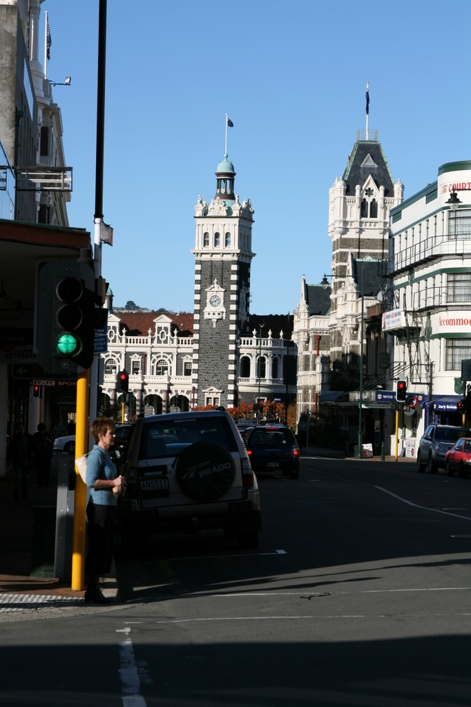 Railway Station of Dunedin