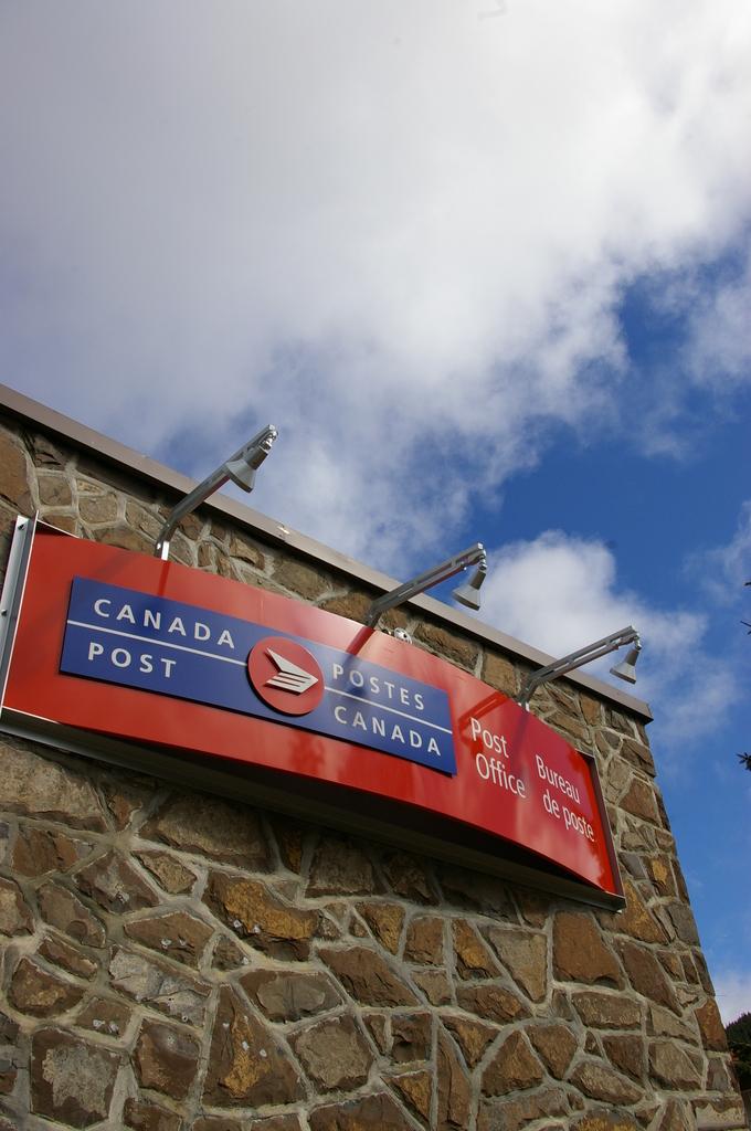 カナダの郵便局