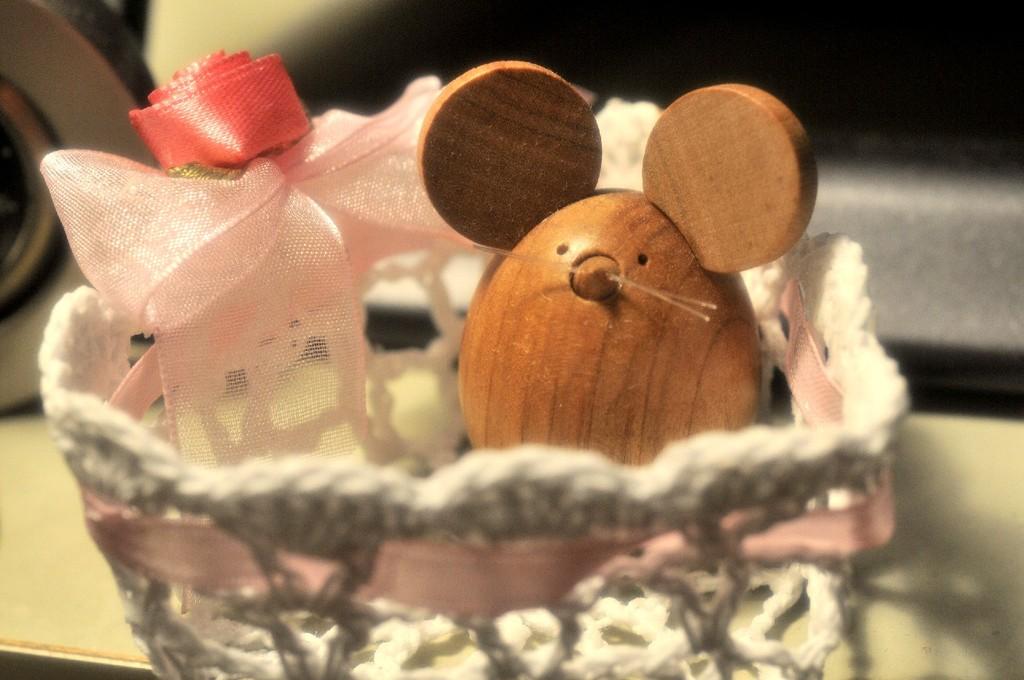 起き上がりこぼしのネズミ