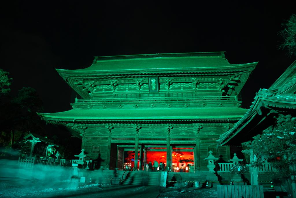 善光寺 灯明祭り