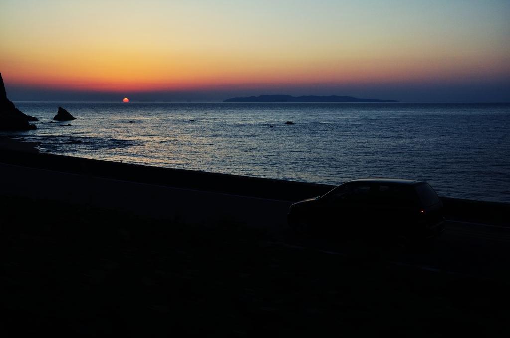 また明日、太陽君。