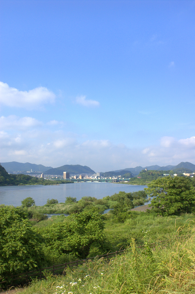 木曽川とライン大橋