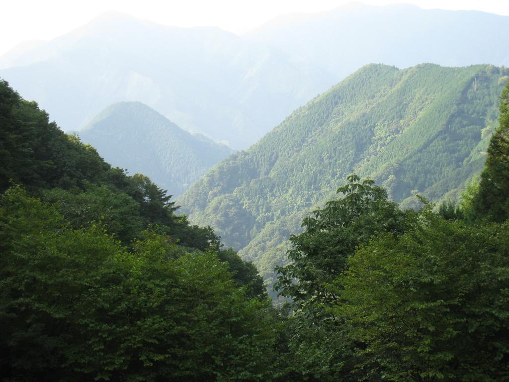 御嶽山 - 遠景