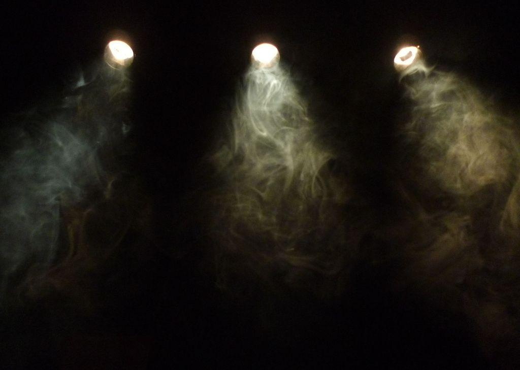 Cigarette smoke and lighting