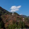 玄弉三蔵塔の紅葉