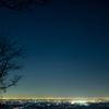 関東平野の夜景