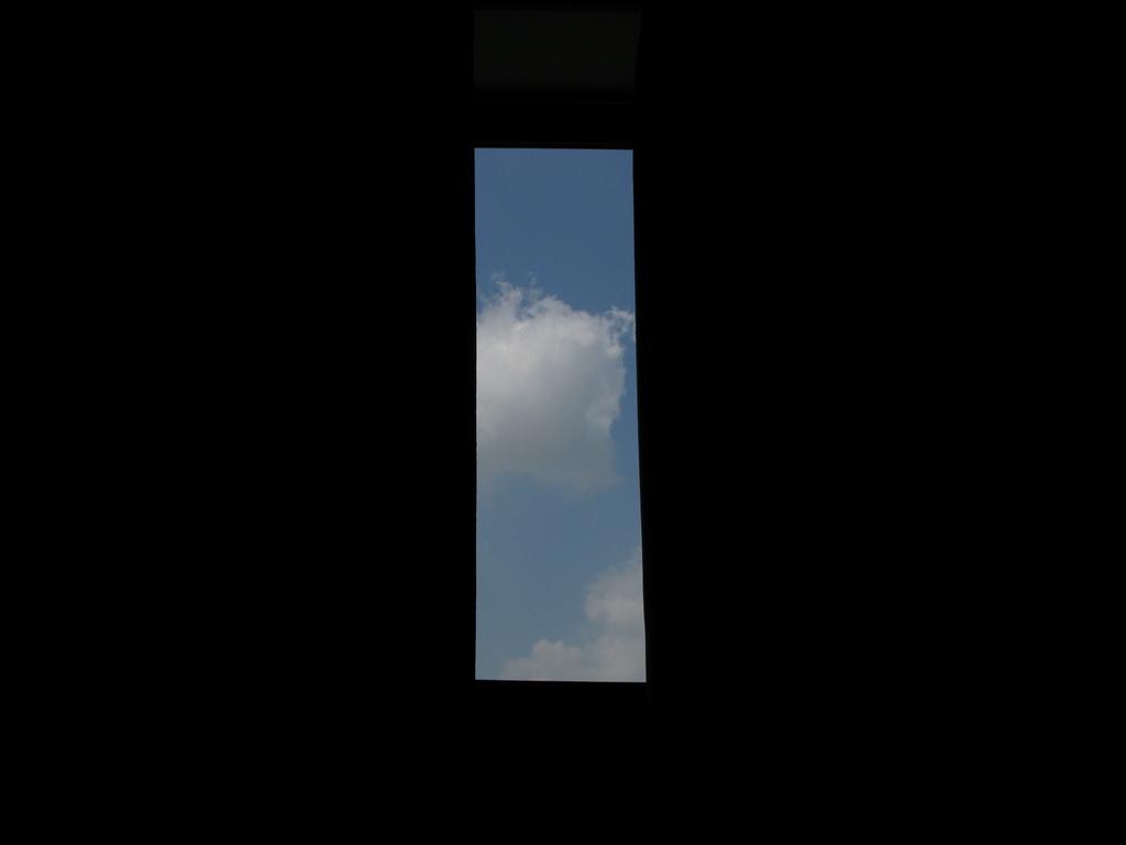 空の切り取り線