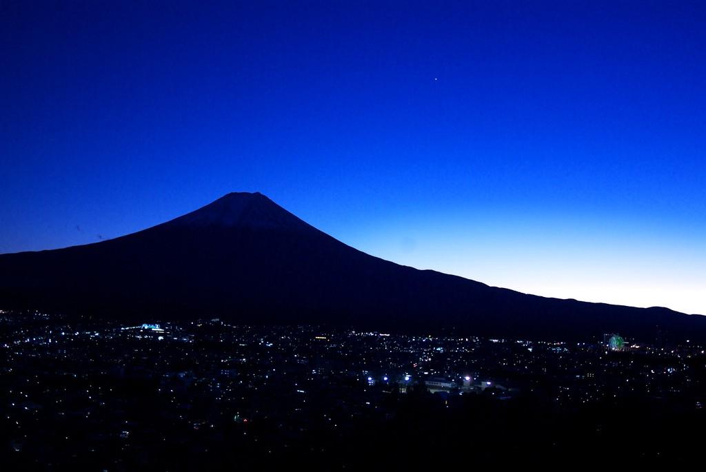 blue mountain&Venus
