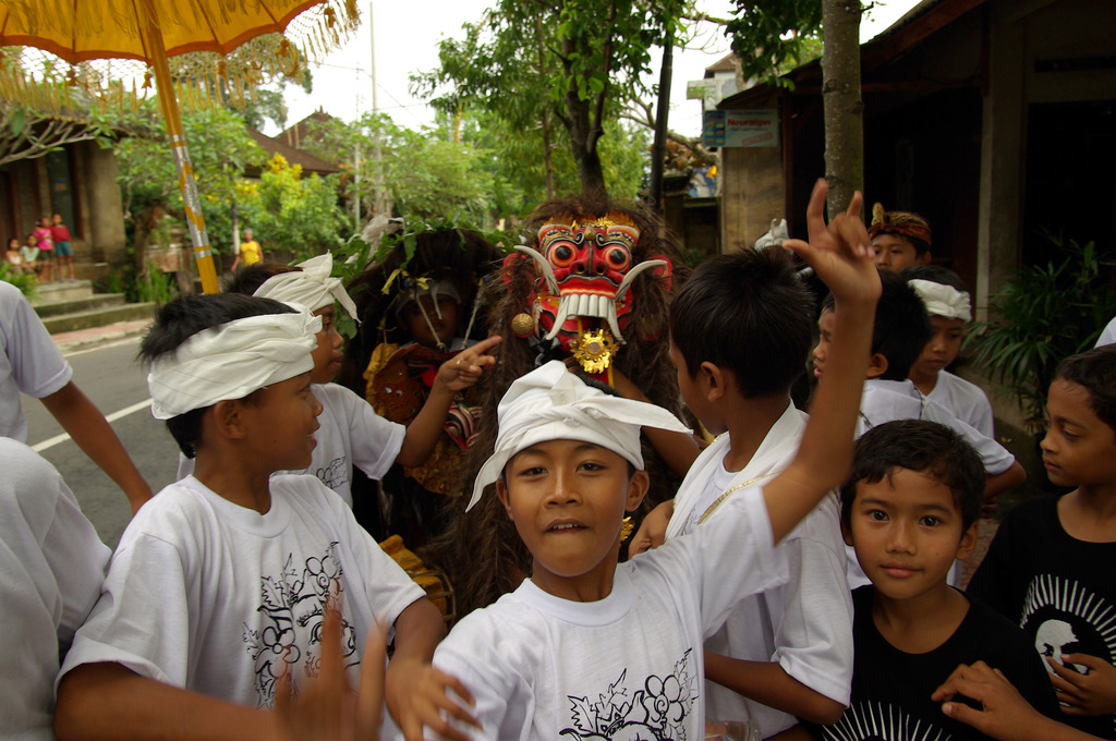 Children of the galungan