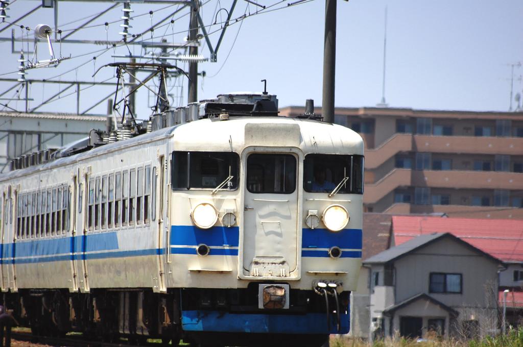 初300mm(北陸本線普通列車)