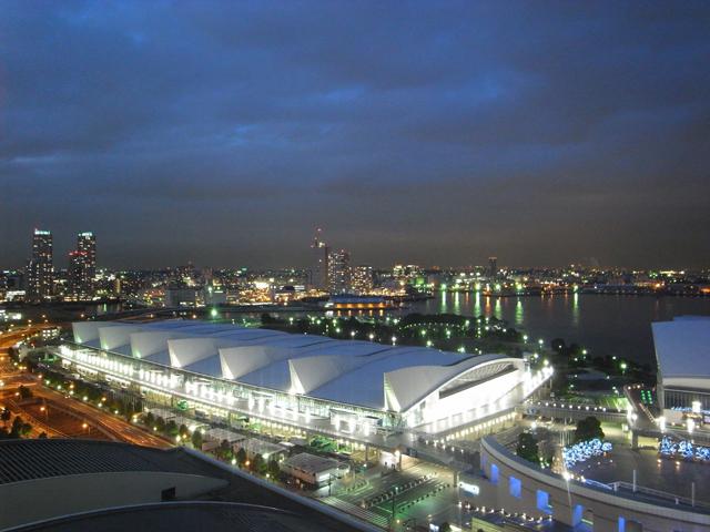 パンパシフィック横浜からの風景